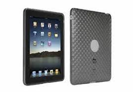 Custodia in silicone per iPad Trust col.grigio