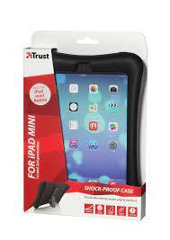 Custodia/Stand in silicone per iPad mini Trust col.nero