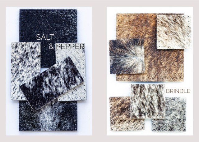 Inkomo cowhide rugs colourways mood board