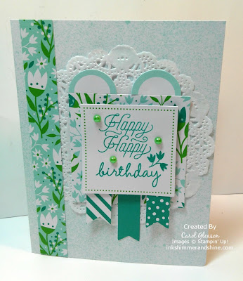 March 2016 Alternate Paper Pumpkin Birthday card