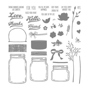 Jar of Love Stamp Set