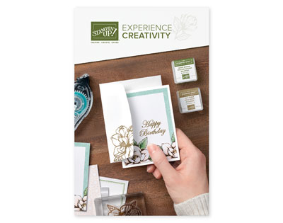 2019-2020 Experience Creativity Brochure with projects designed with beginners in mind.