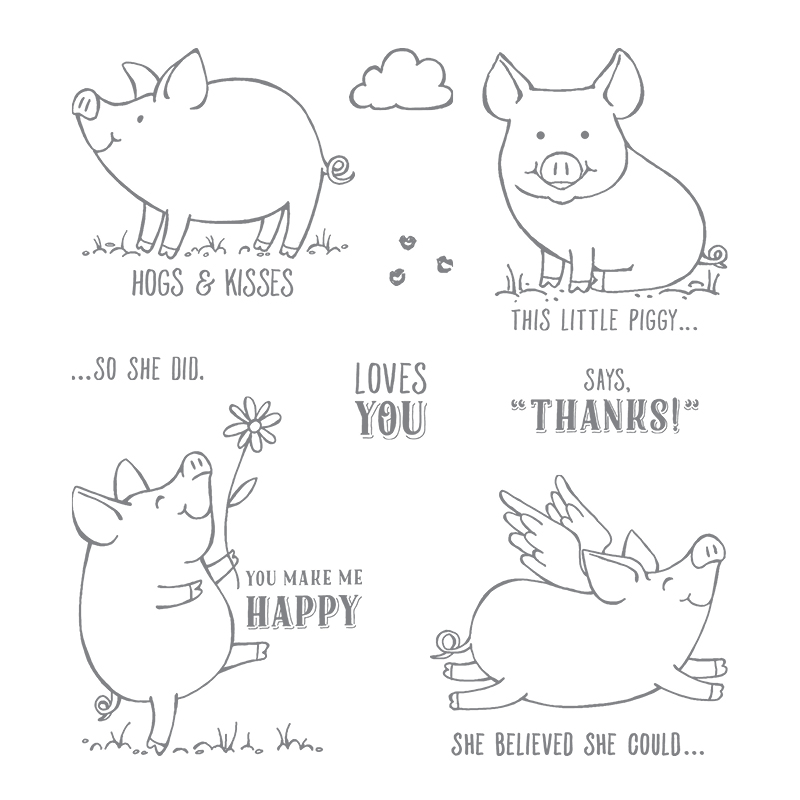 This Little Piggy stamp set images