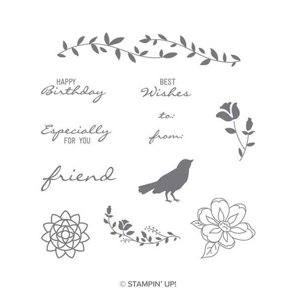 Botanical Bliss stamp set images