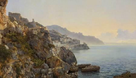 Shchedrin,-SF-View-of-Amalfi.-1827-1828