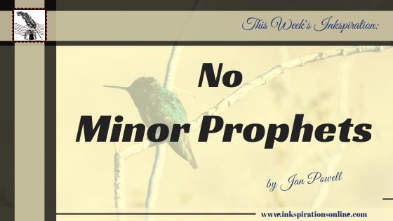 No Minor Prophets