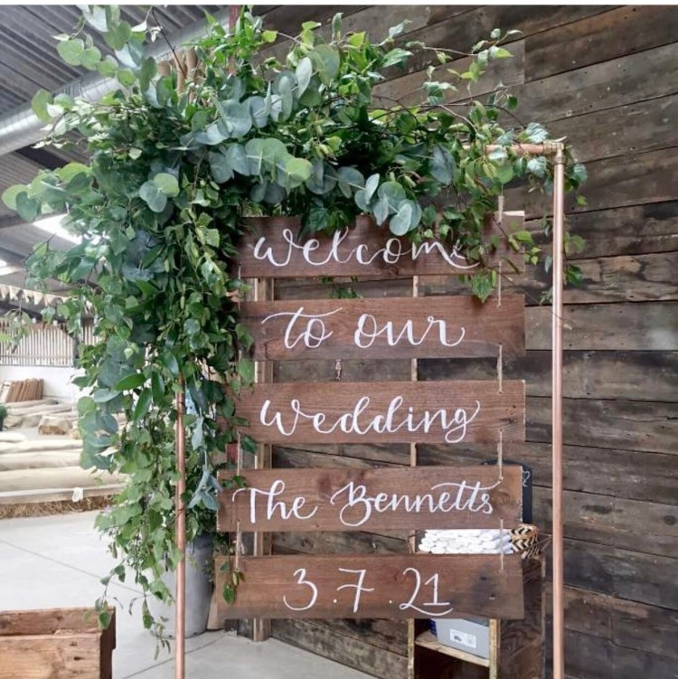 Wedding sign. Welcome to our wedding. Rustic wedding. Country wedding in cheshire. Shropshire county wedding. i