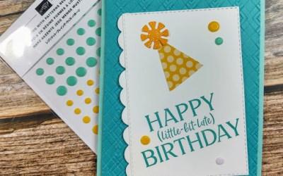 Birthday Card for the Procrastinator!