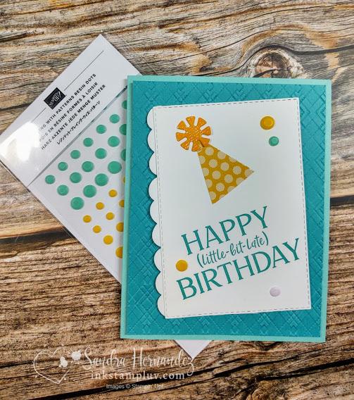 Happy Little-Bit-Late Birthday