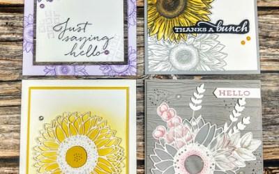 Celebrate Sunflower Class Cards