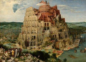 Painting of Tower of Babel