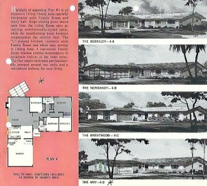 model suburban homes