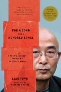 Book cover For a Song and a Hundred Songs prisoner memoi