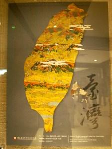 Taiwanese map