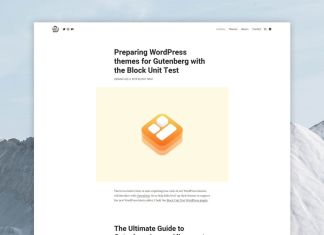 Tabor WordPress Theme