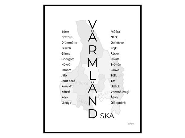 värmland_värmländska_tavla_poster_16