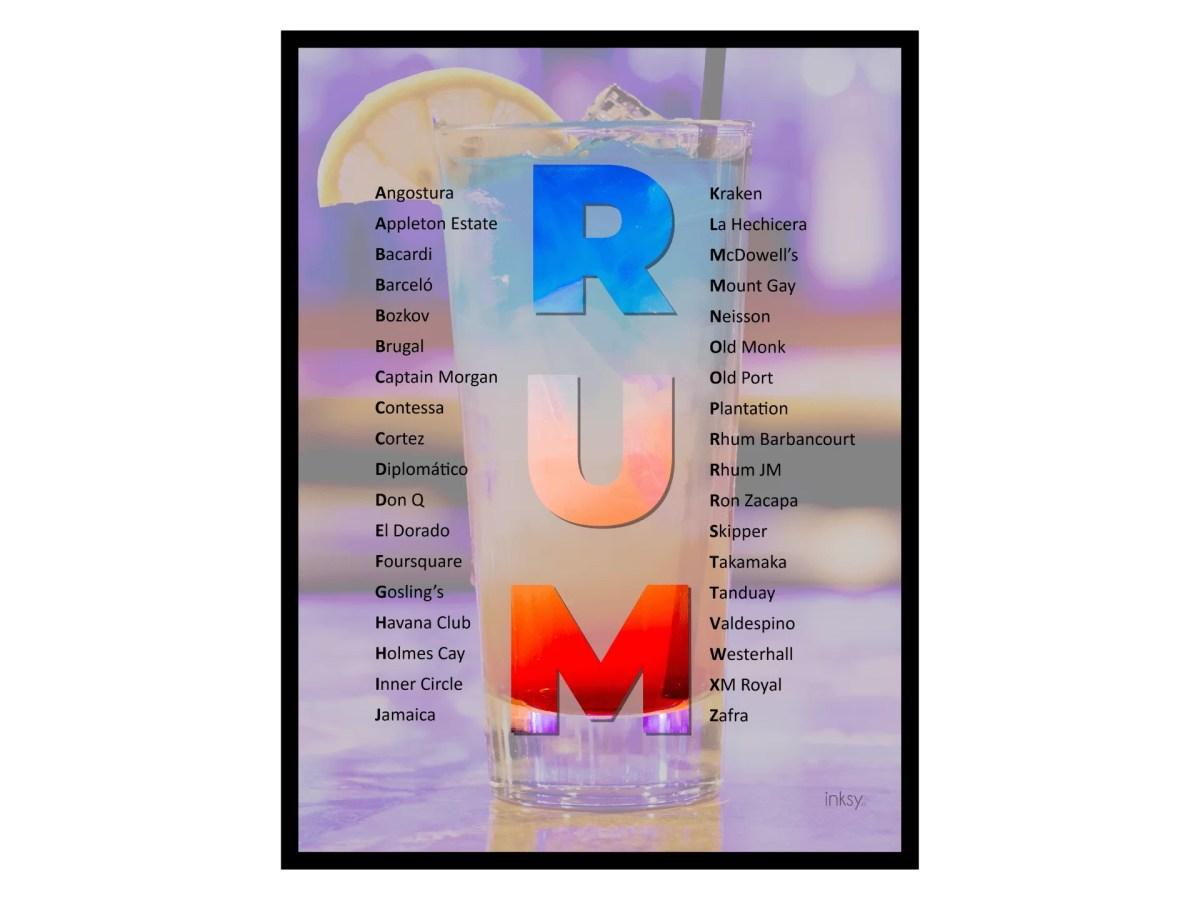 Rom rum tavla poster