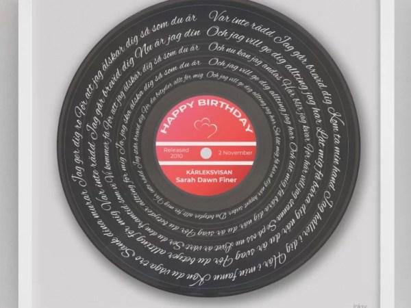 inksy vinyl kärleksvisan
