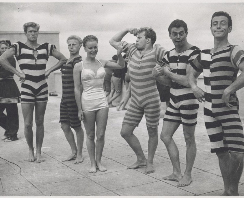 cool swimsuits in the 1940s