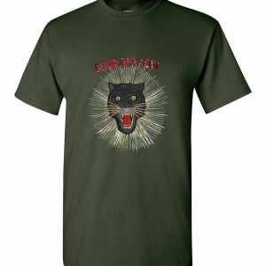 Gucci Panther With Rays Men's T-Shirt