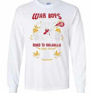 Road To Valhalla Tour Mad Max TShirt Long Sleeve T-Shirt