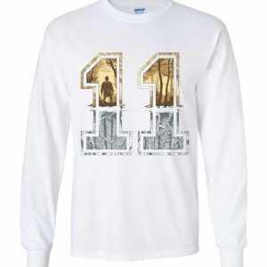 Stranger Things 11 Logo Long Sleeve T Shirt Amazon Best Seller