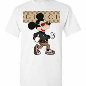 Gucci Mickey Mouse Stylish Men's T-Shirt