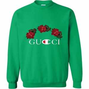 gucci champion collab sweatshirt