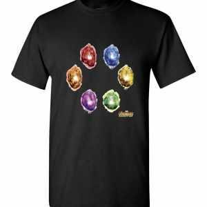 Marvel Avengers Infinity War Stones Glow Men's T-Shirt
