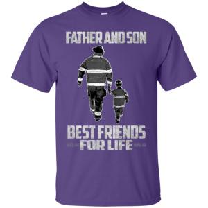 Gift Christmas Firefighter Wife Daughter Son Father Mother Men's T-Shirt