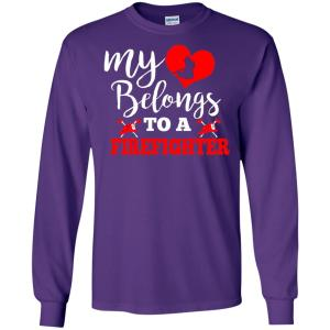 Meaning Costume From Firefighter Husband For Wife Long Sleeve T-Shirt