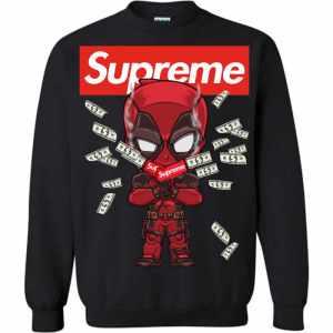 Funny  Supreme Deadpool Sweatshirt