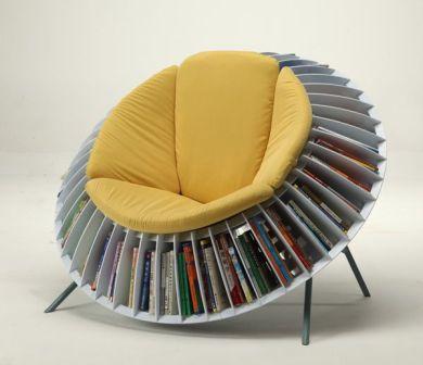 Sunflower Bookcase