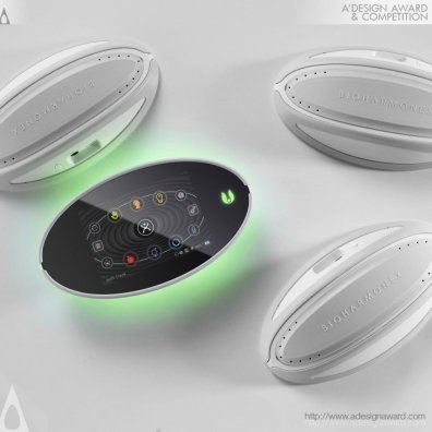 BIO HARMONEX Electromagnetic Generating Device by Co&Co Designcommunication
