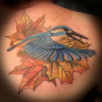 Kingfisher Tattoo - Rachel