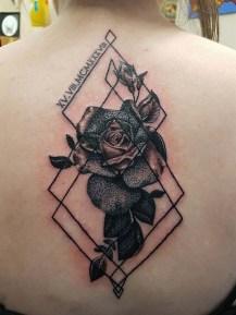 vicki dotwork rose