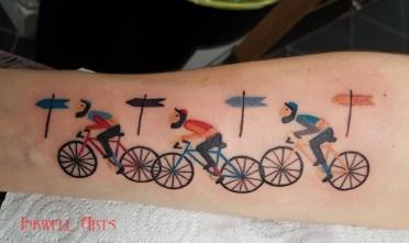 vicki cyclists
