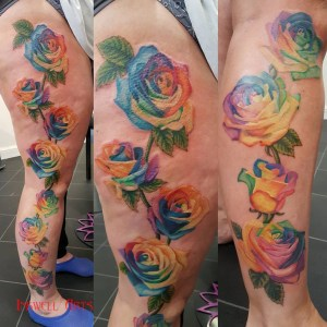 vicki rainbow roses finished