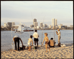 Perth skyline viewed from South Perth c.1981