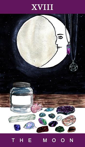 18 - The Moon - Full Colour