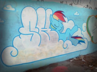 graffiti_my_little_pony_by_shinodage-d5ft9j0