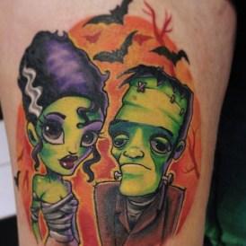 frankenstein-mister-misses-tattoo