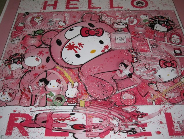 hello_kitty_art_Hello_Rebel_Sean_DAnconia_gloomy_dunny_astro_boy_Chanel-151-1356x1024