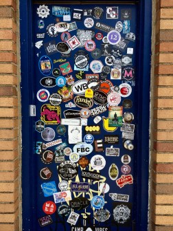 Door outside 18th St., Gary