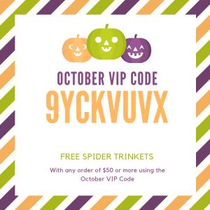October VIP Code