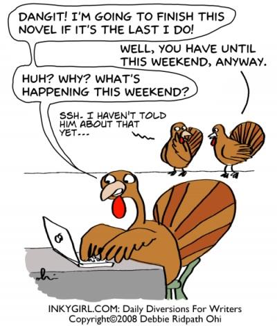Inkygirl Thanksgiving comic