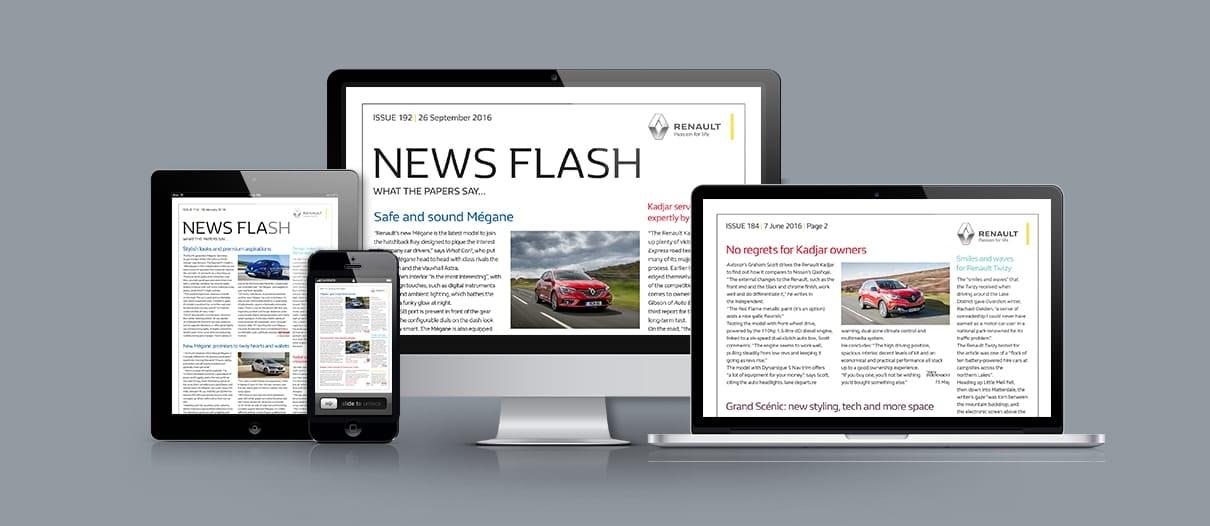 Renault Press Digest