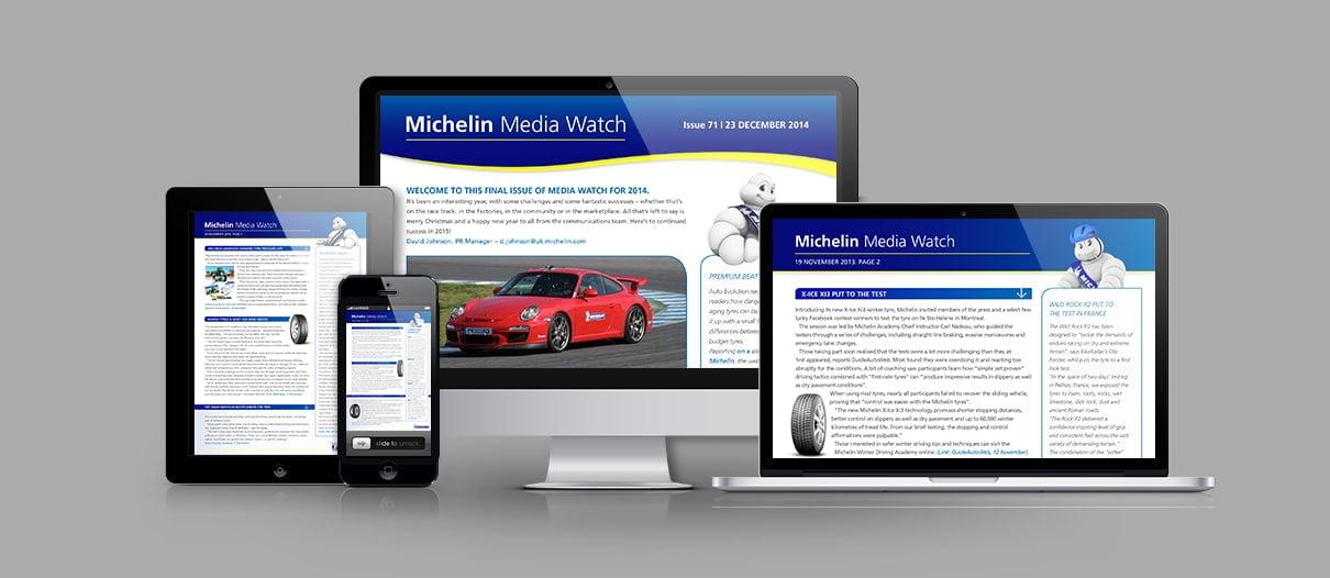 Michelin Press Digest