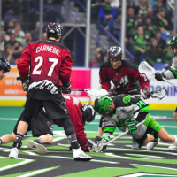 Rush Outlast Mammoth for 9-7 Victory
