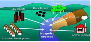 Aggressive improvement in the management of storm water and non- point pollution programs
